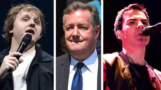 Lewis Capaldi, Piers Morgan and Stereophonics Kelly Jones