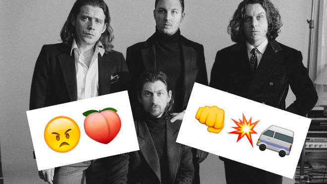 Arctic Monkeys emojis