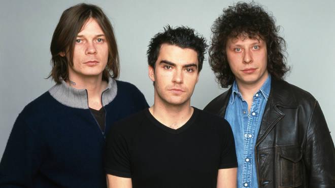 Stereophonics in 2001: Richard Jones, Kelly Jones and Stuart Cable
