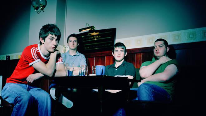 Arctic Monkeys in 2006:  Alex Turner, Matt Helders, Jamie Cook and Andy Nicholson.