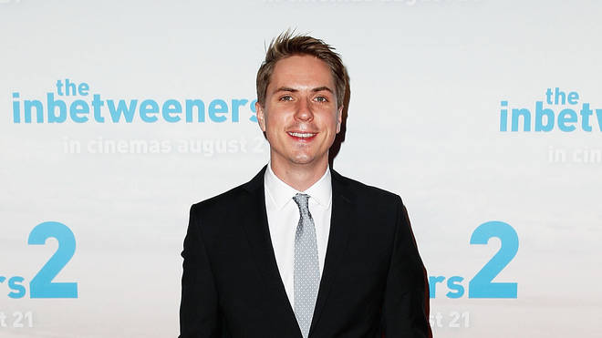 Joe Thomas at the premiere of The Inbetweeners 2 in 2014