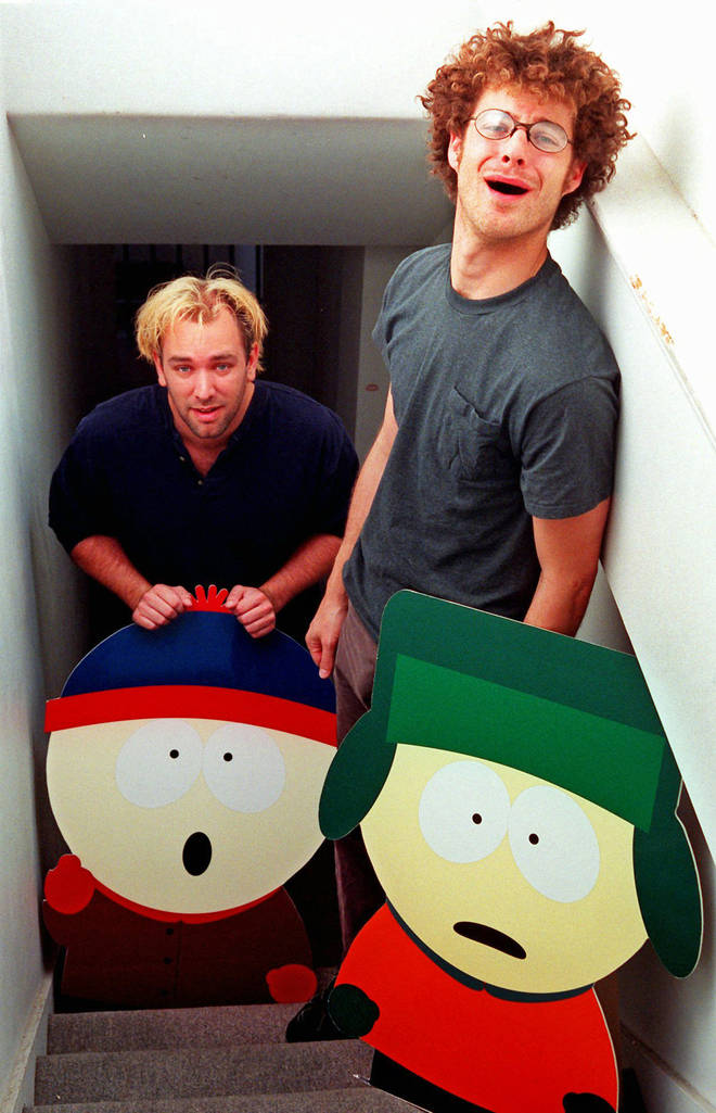 Trey Parker and Matt Stone, creators of South Park