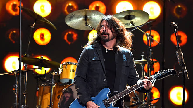Foo Fighters' Dave Grohl at MusiCares Person Of The Year Honoring Aerosmith