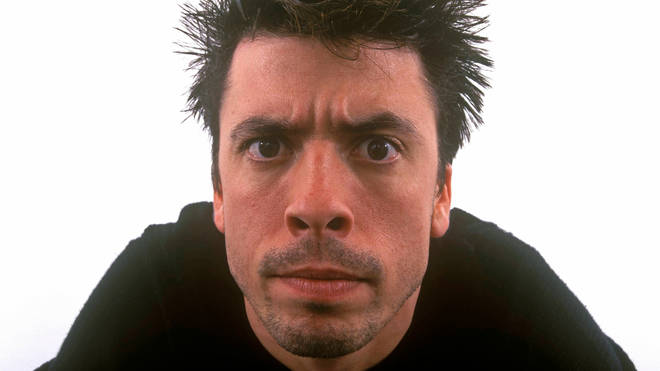 Dave Grohl of Foo Fighters in 1999
