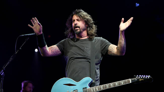 Foo Fighters' Dave Grohl in 2019