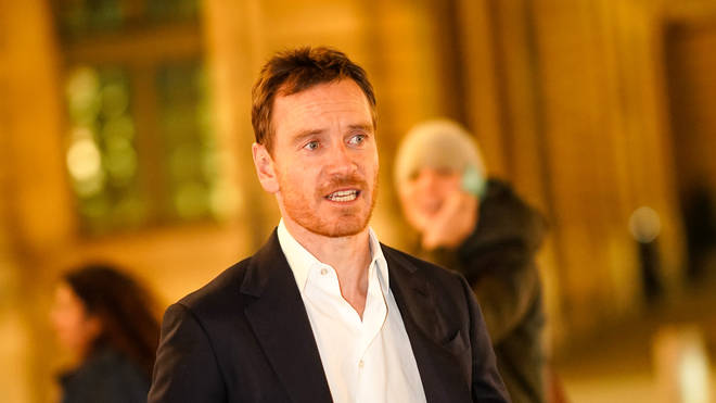 Michael Fassbender in January 2020