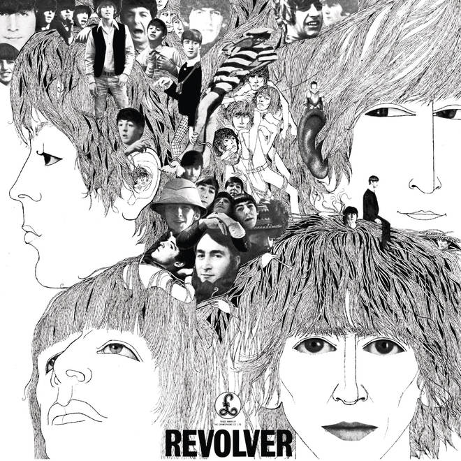 The Beatles - Revolver  album cover