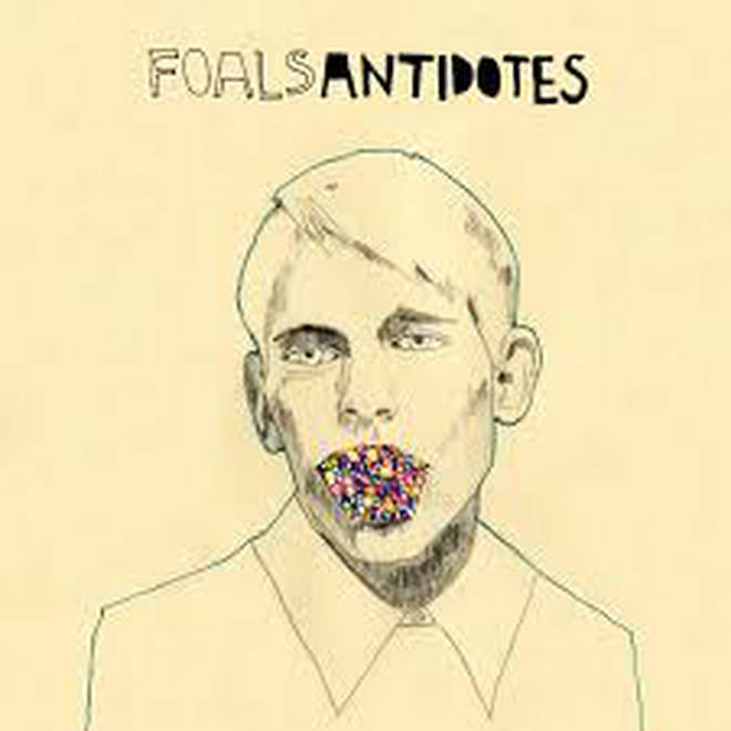 Foals' Antidotes album artwork