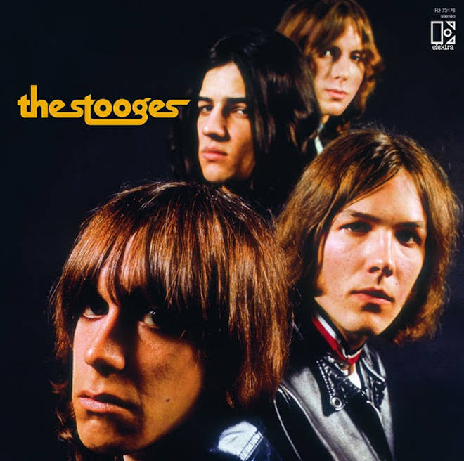 The Stooges debut album cover