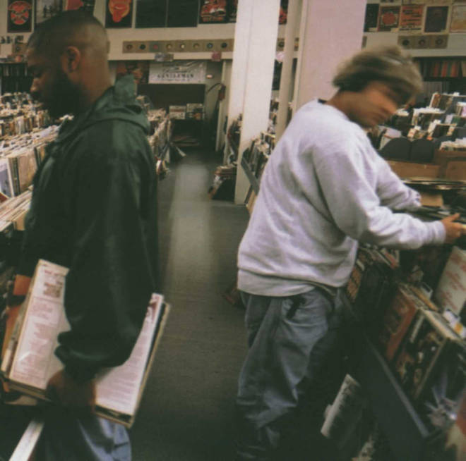 DJ Shadow - Endtroducing album cover