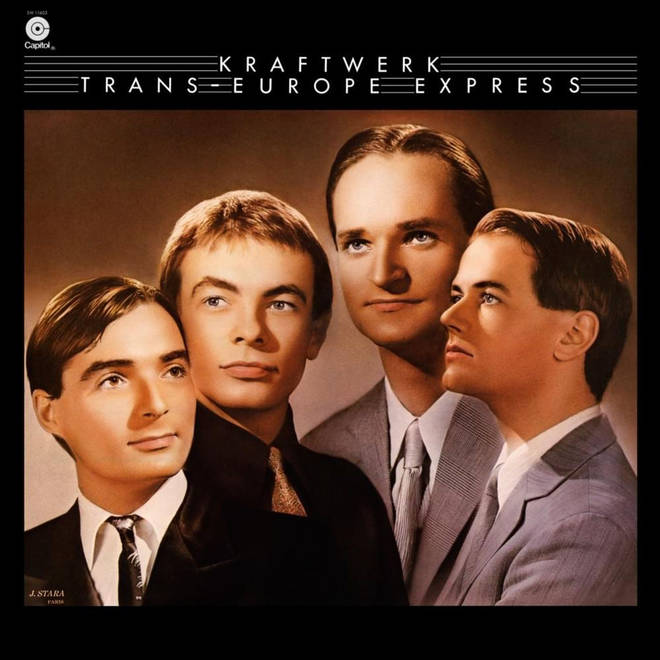 Kraftwerk - Trans Europe Express album cover