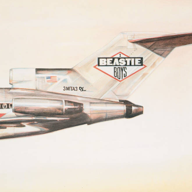 Beastie Boys - Licensed To Ill album cover
