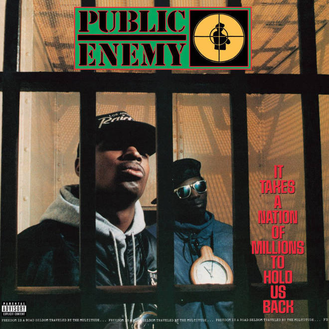 Public Enemy - It Takes A Nation Of Millions To Hold Us Back album cover