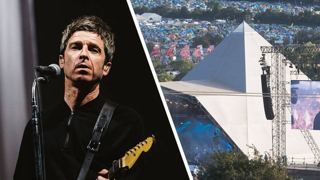 Noel Gallagher and Glastonbury's Pyramid Stage