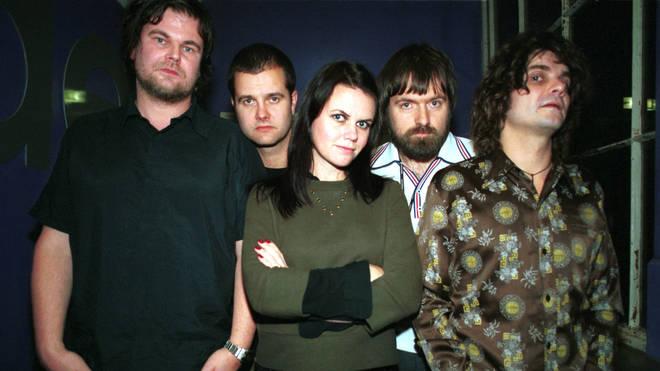 The Wannadies:  Stefan Schönfeldt, Gunnar Karlsson, Christina Bergmark, Fredrik Schönfeldt  and Pär Wiksten