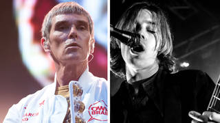 The former Stone Roses frontman Ian Brown and Catfish and the Bottlemen's Van McCann