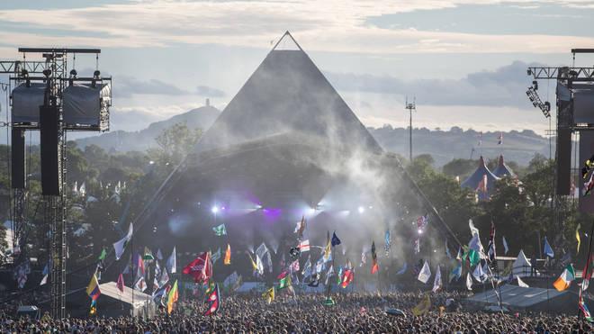 Glastonbury Festival's Pyramid Stage 2017