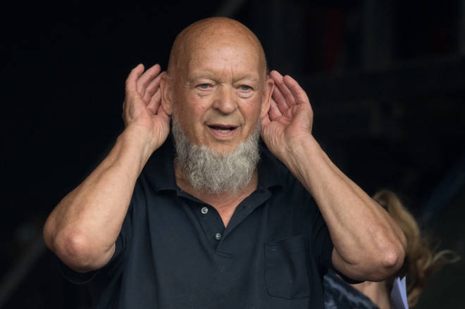 Michael Eavis the founder of Glastonbury Festival at the event 2017