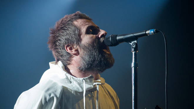 Liam Gallagher performs at Le Zenith, Paris on February 21, 2020