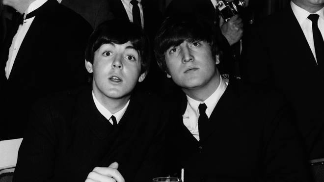 The Beatles' Paul McCartney and John Lennon in 1964