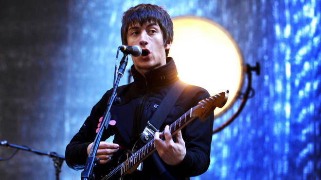 Alex Turner Alex Turner performs on stage at the T in the Park festival 2007