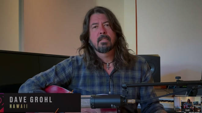 Dave Grohl sings stunning rendition of My Hero for Elton John's coronavirus relief concert