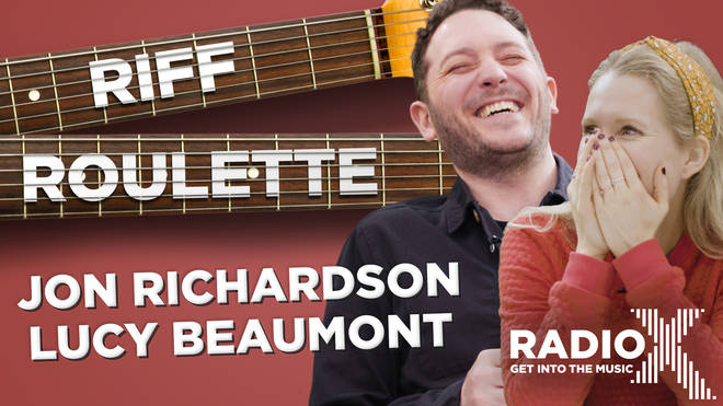 Jon Richardson and Lucy Beaumont play Riff Roulette