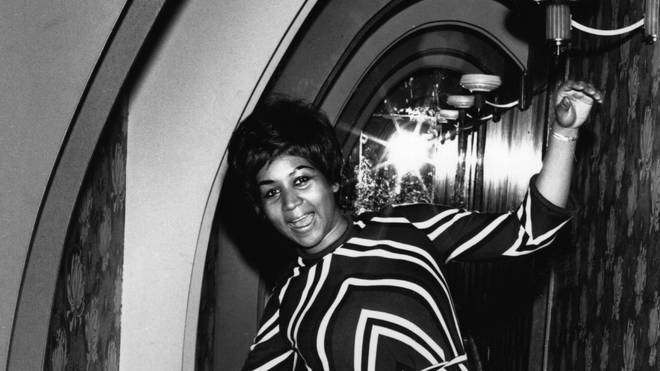 Aretha Franklin in 1968