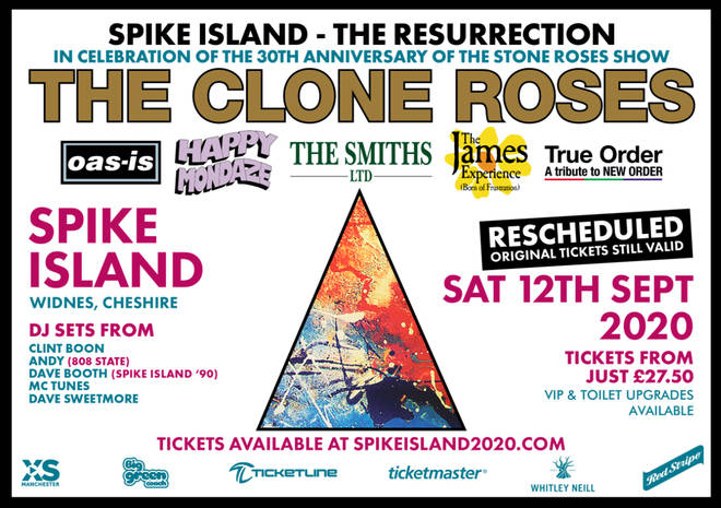 Spike Island - The Resurrection updated poster
