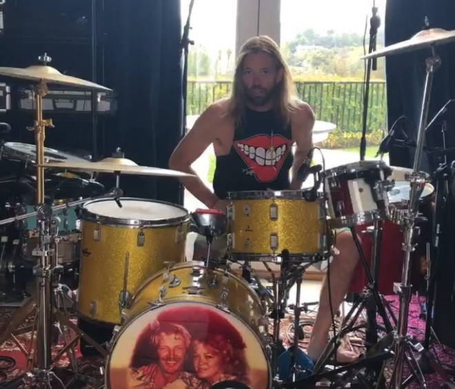 Foo Fighters Taylor Hawkins starts sharing drum tutorials from lockdown