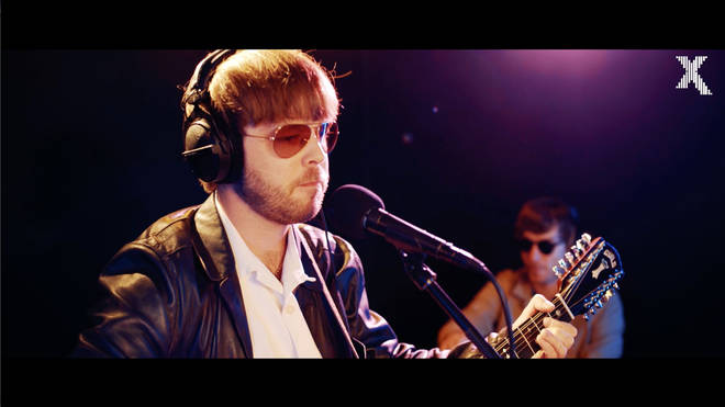 The Coral's James Skelly performs for Radio X