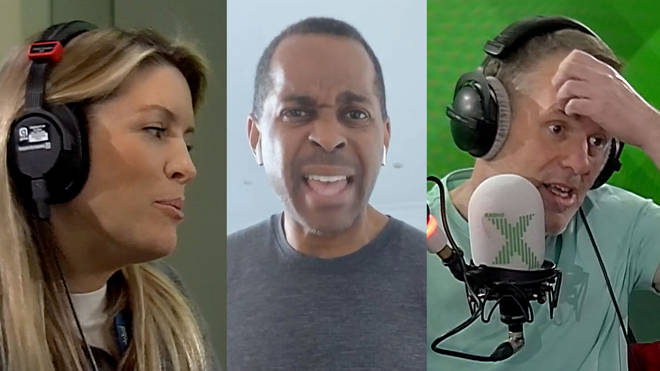 Pippa Taylor, Andi Peters and Chris Moyles