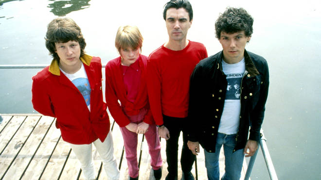 Talking Heads in 1977: Chris Frantz, Tina Weymouth, David Byrne, Jerry Harrison