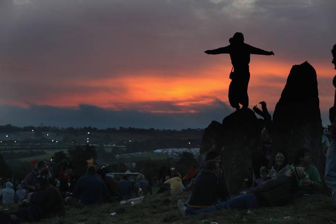 The Stone Circle at dawn. 2009