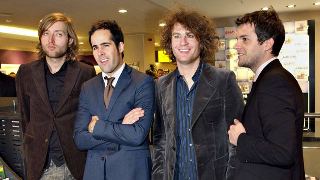 The Killers in 2005