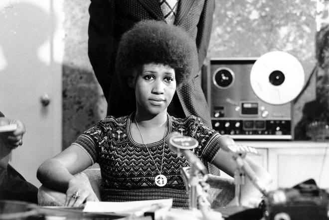 Aretha Franklin in 1973