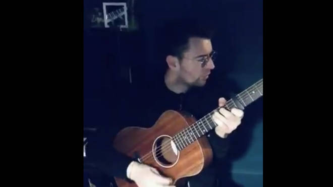 Liam Fray sings Bill Wither's Lean on Me