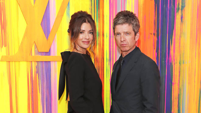 Sara Gallagher and Oasis legend husband Noel Gallagher at the Louis Vuitton New Bond Street Maison Reopening