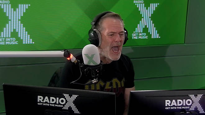 Chris Moyles loses it at listener texts