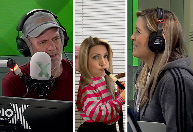 Chris Moyles can't get over Pippa's family recorder sessions