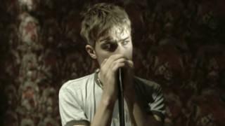Damon Albarn in Blur's Song 2 video