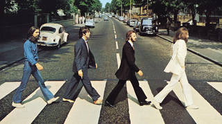 The Beatles - Abbey Road album cover