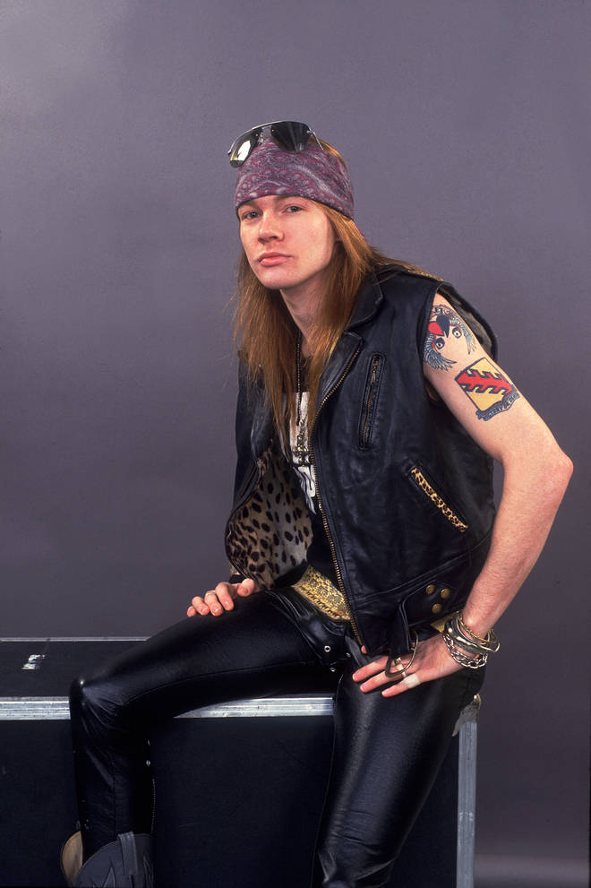 Axl Rose of Guns And Roses in 1987