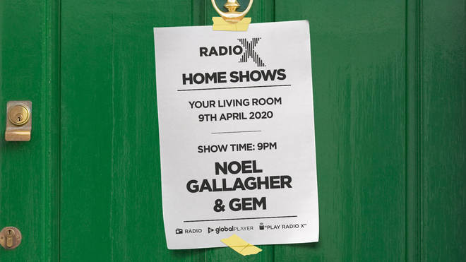 Radio X's Home Shows with Noel Gallagher and Gem live at the Lowry in 2006