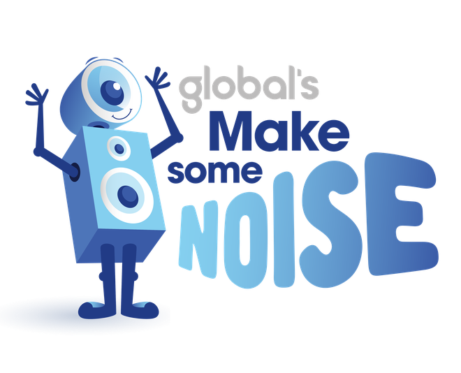 Global's Make Some Noise logo 2020