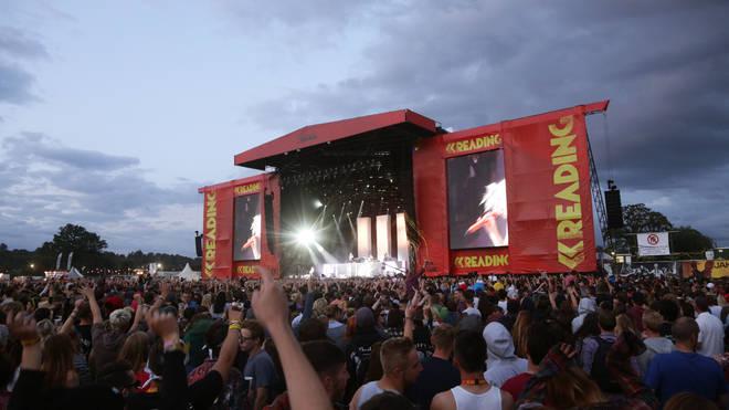 Reading Festival crowds