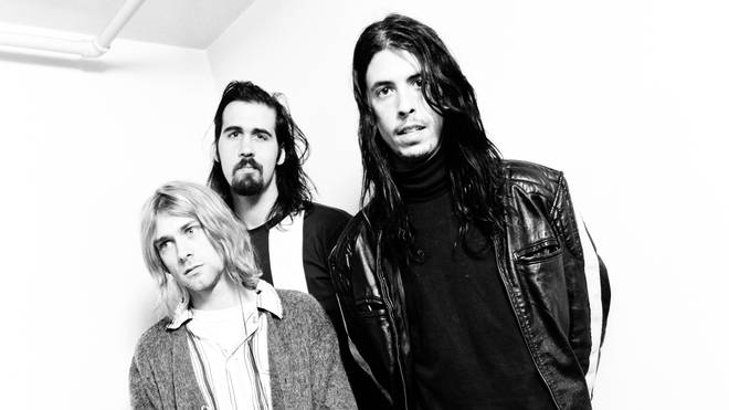 Nirvana in December 1992