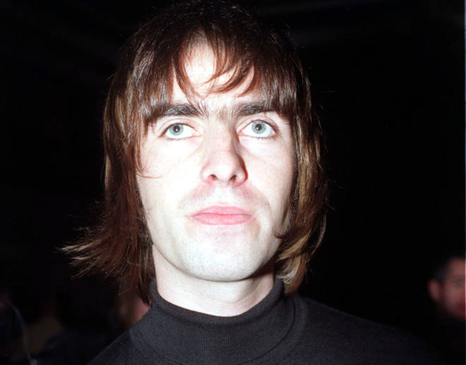 Liam Gallagher in 1996