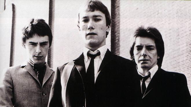 The Jam in 1977: Paul Weller, Rick Buckler, Bruce Foxton