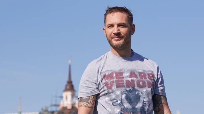Tom Hardy Photocall 'Venom' In Moscow